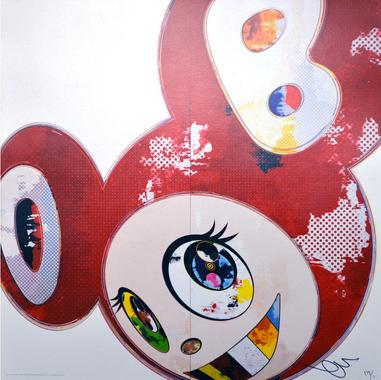 <span style='display:block;position:absolute;left:15px;top:-20px;'>Ref. 380</span>Artiste : Murakami Takashi<br/>Titre de l'oeuvre : And Then Red<br/>Année : 2013<br/>Technique : Impression numérique<br/>Format : 60x60 cm <br/>